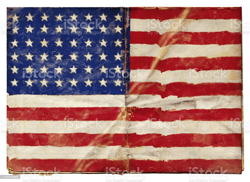 American 48 Stars Flag (XXL) royalty-free stock vector art