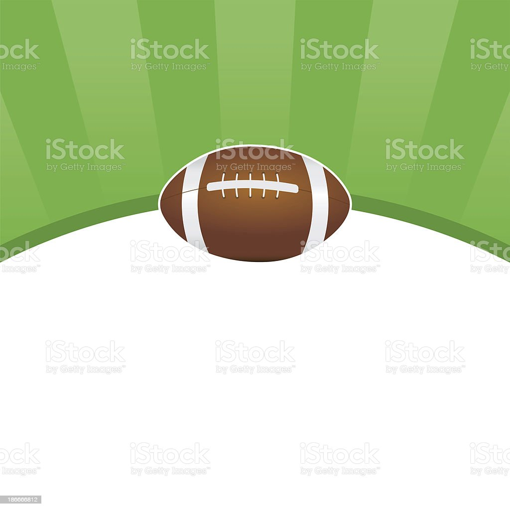 American football background - raster image royalty-free stock vector art