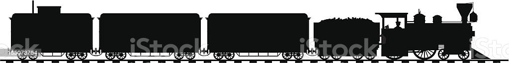American loco royalty-free stock vector art