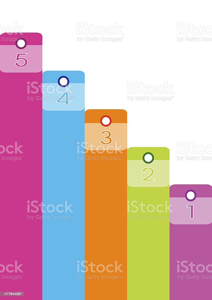 An Illustration of Colorful Modern Banner Business Background royalty-free stock vector art