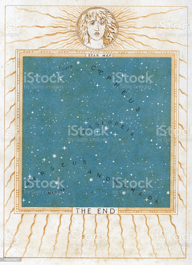 Ancient Constellation royalty-free stock vector art