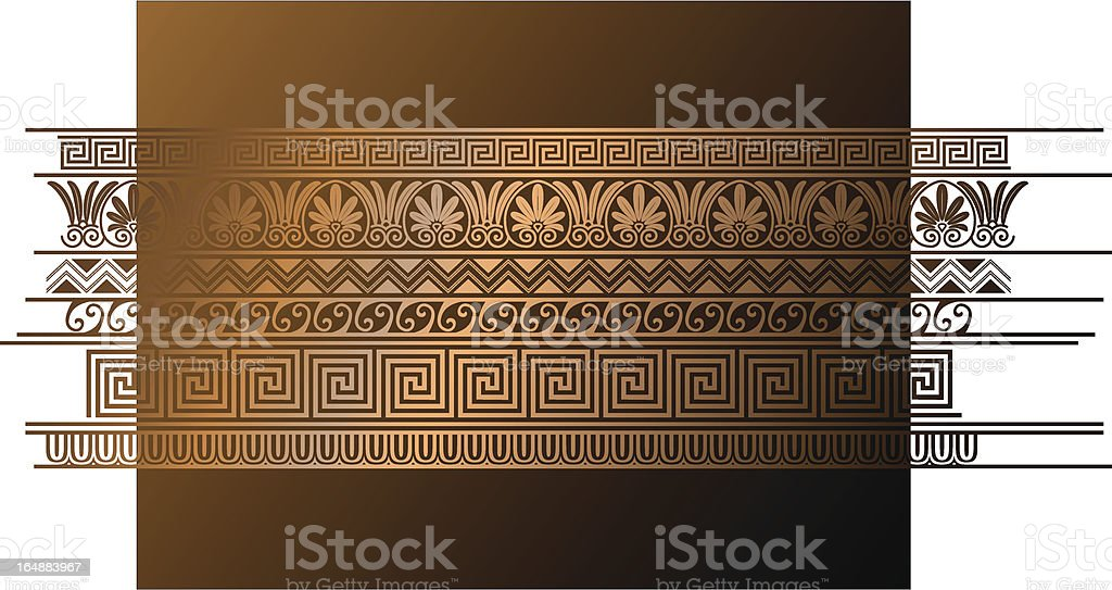 Ancient Greek art! vector art illustration