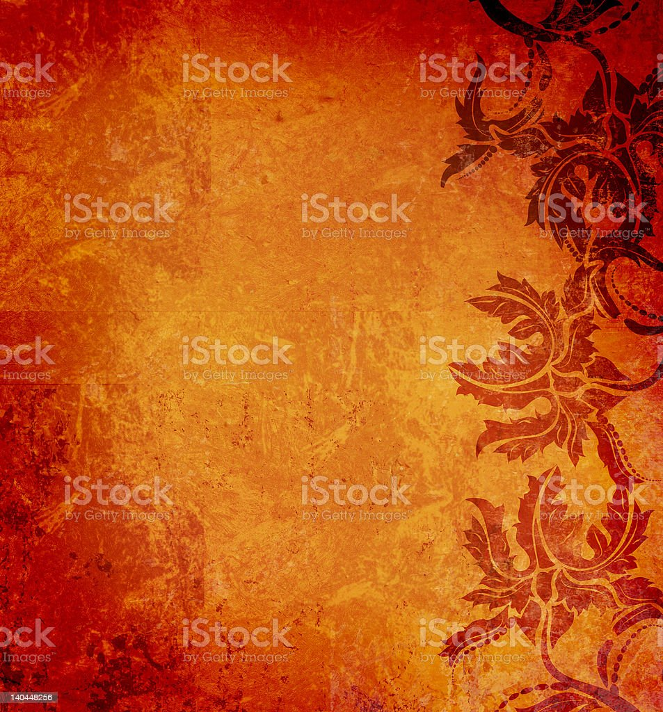 Ancient grunge paper royalty-free stock vector art