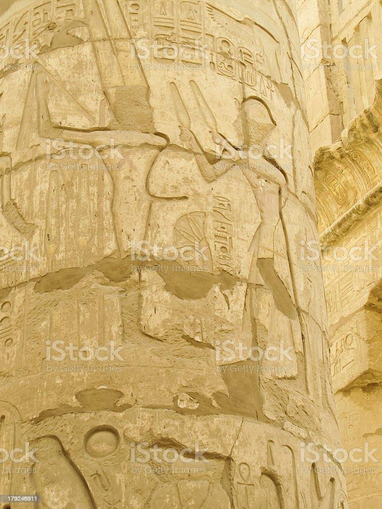 Ancient Ruins royalty-free stock vector art