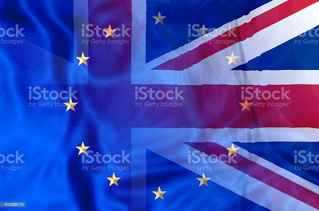 UK and Europe vector art illustration