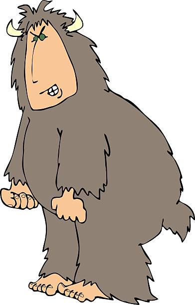 Angry Sasquatch Clip Art, Vector Images & Illustrations - iStock