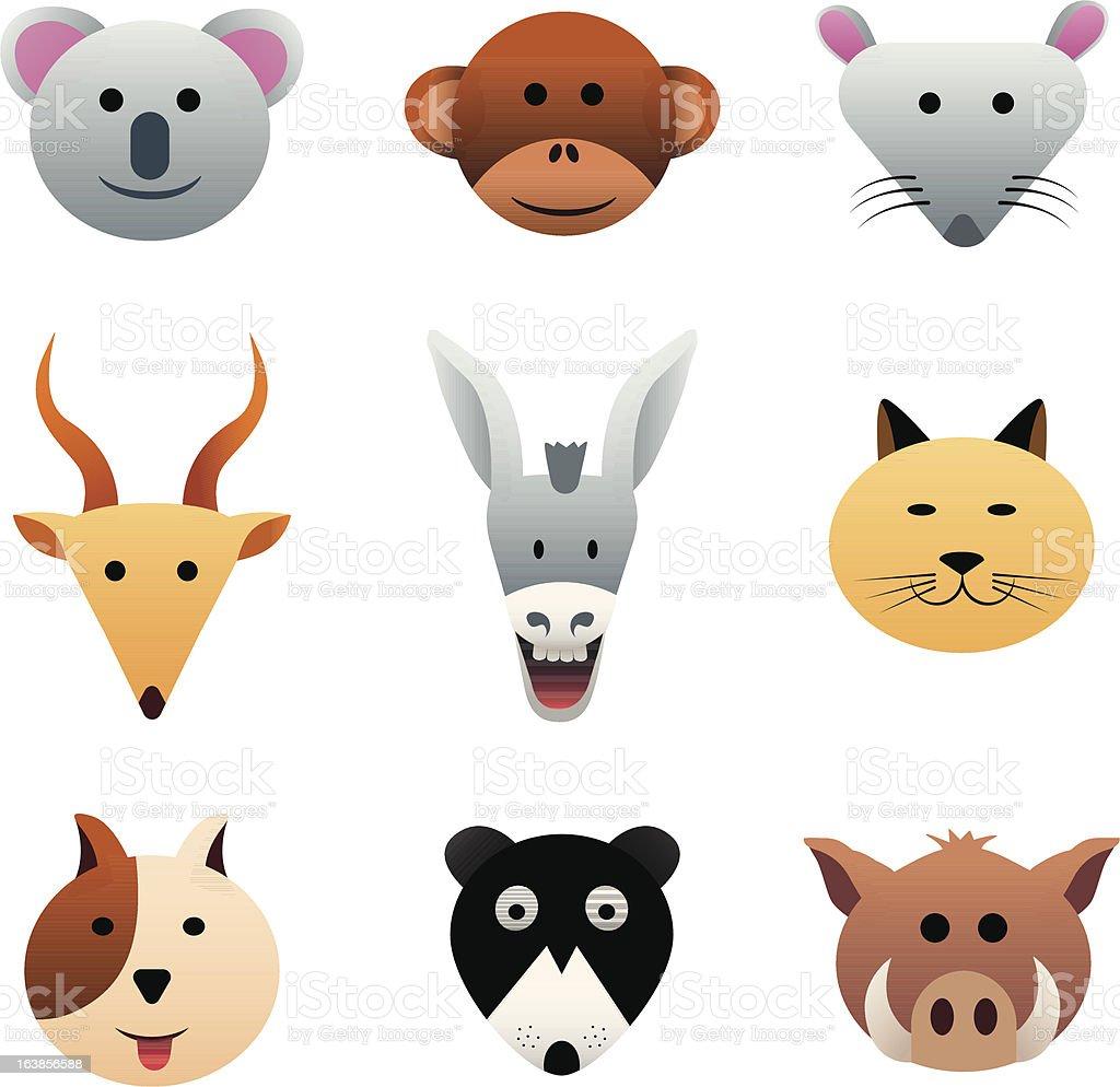 Zwierzęta 2 stockowa ilustracja wektorowa royalty-free