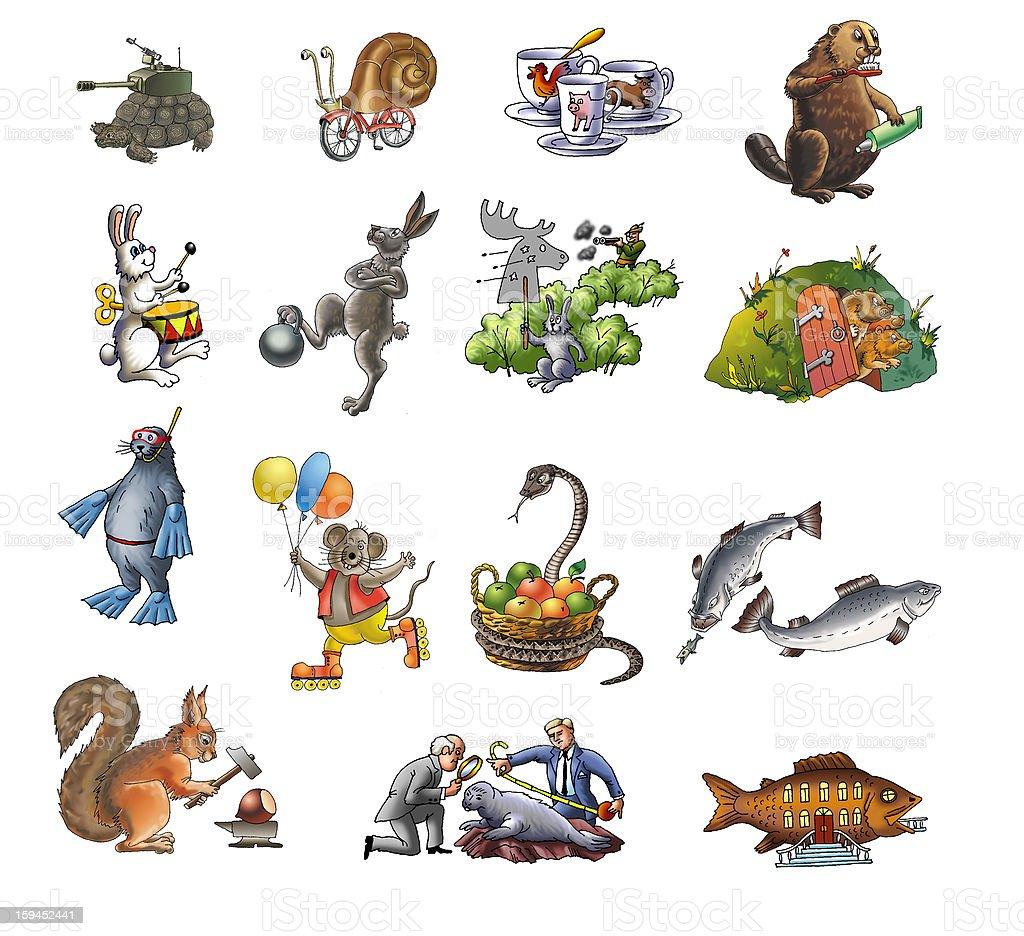 Animals royalty-free stock vector art