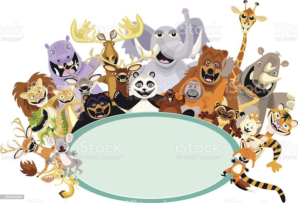 Animals of the World royalty-free stock vector art