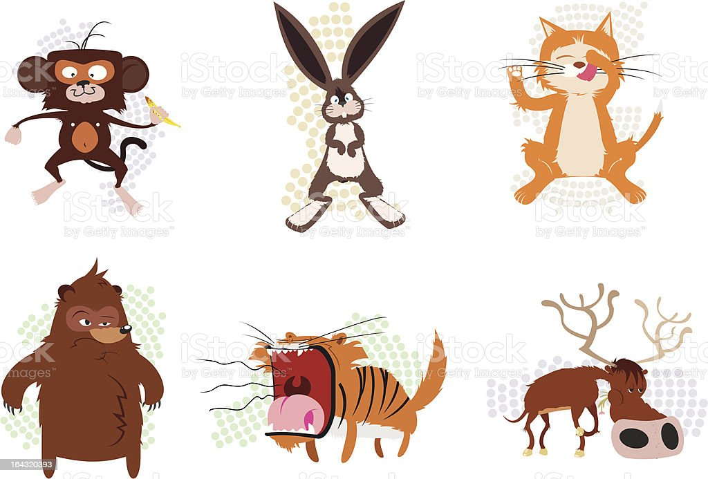 Animals pack royalty-free stock vector art