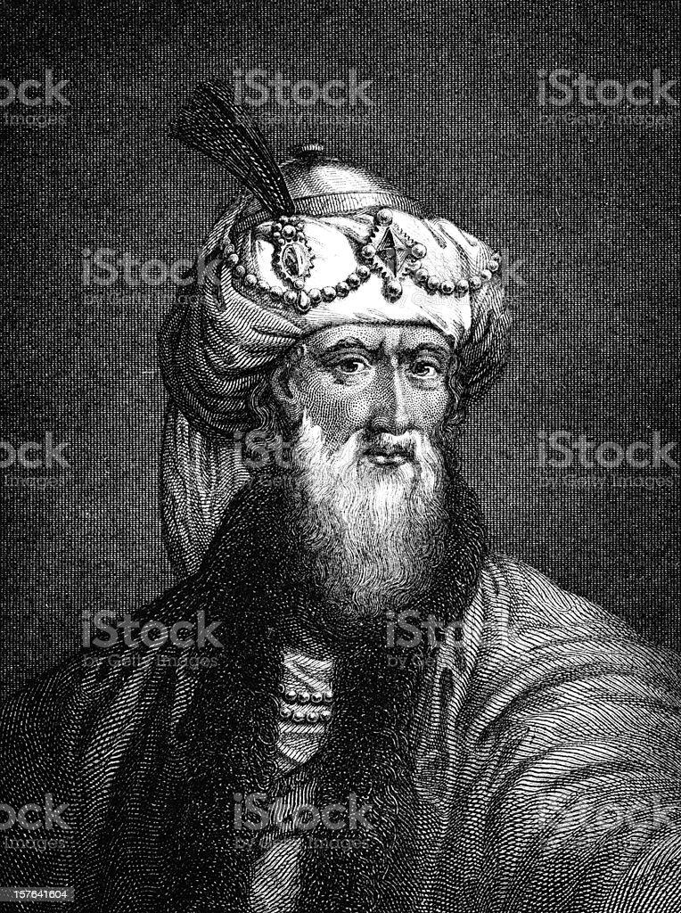 Antique book illustration: Flavius Josephus vector art illustration