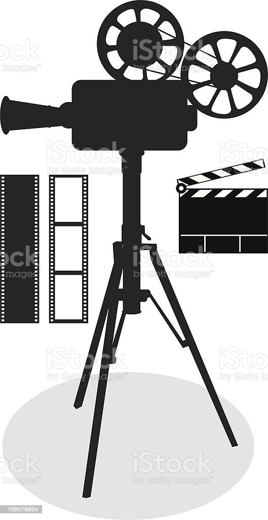 Antique Camera royalty-free stock vector art