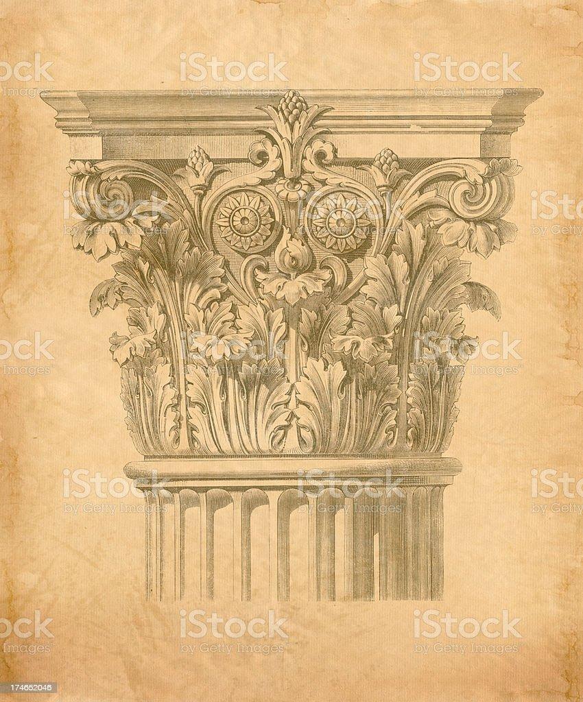 Antique Engraving royalty-free stock vector art