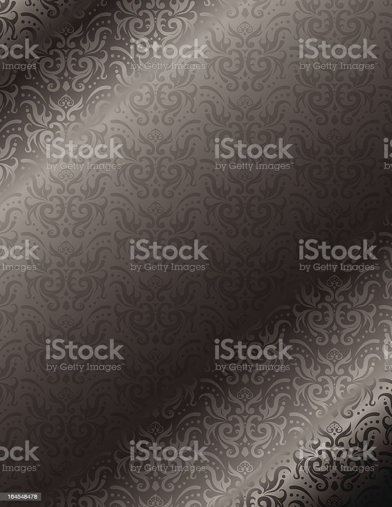Antique Metalic Background royalty-free stock vector art