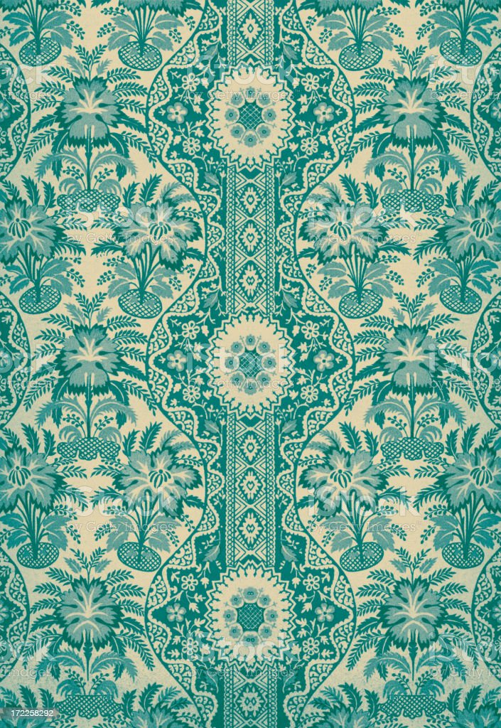 Antique Textile royalty-free stock vector art