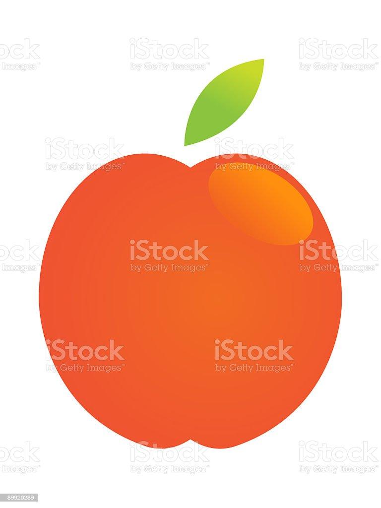 apple vector art illustration
