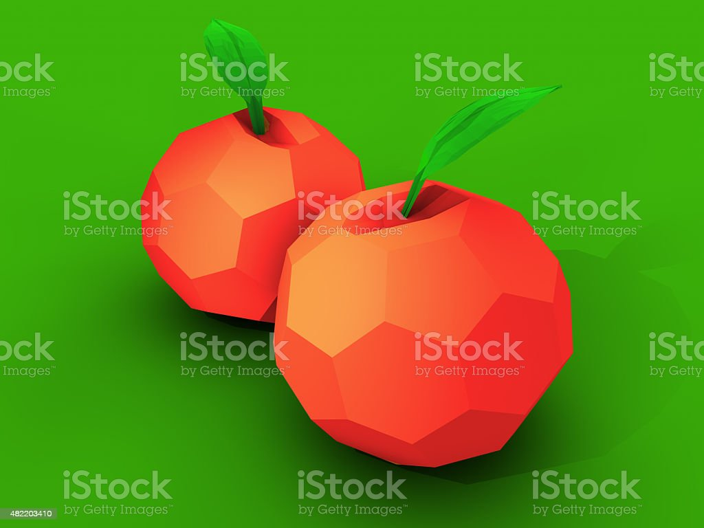 Apple Illustration vector art illustration