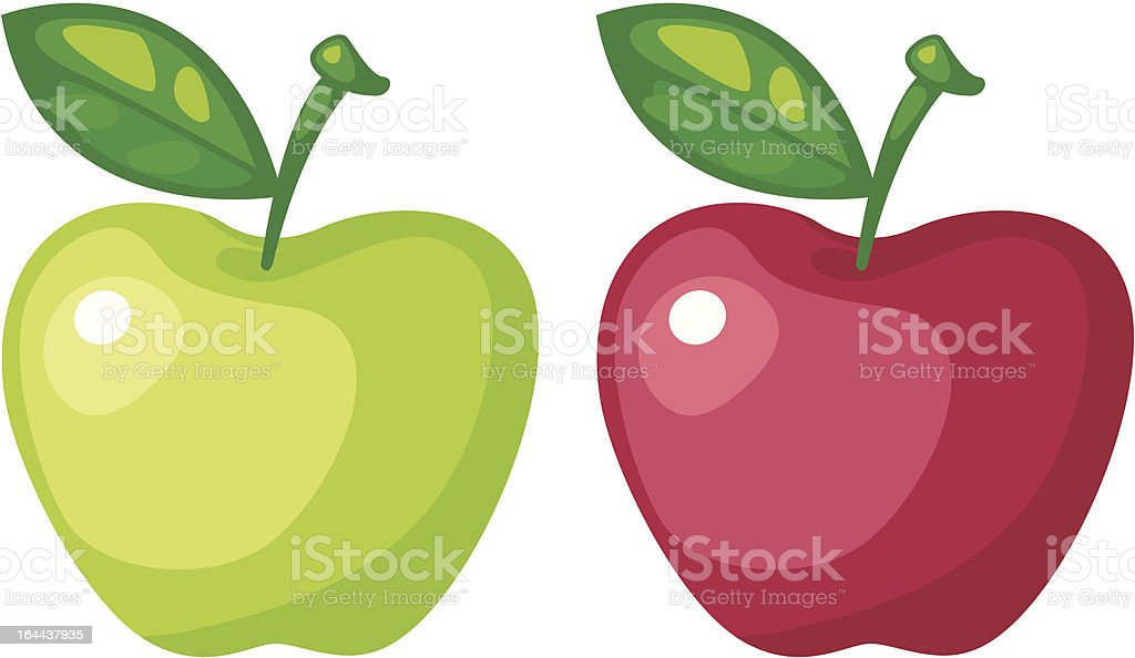 apple vector vector art illustration