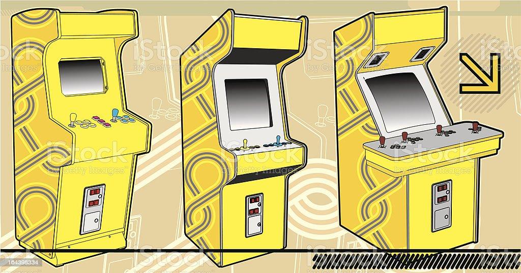 Arcade Selection. royalty-free stock vector art