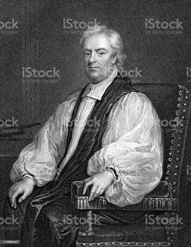 Archbishop of Canterbury royalty-free stock vector art