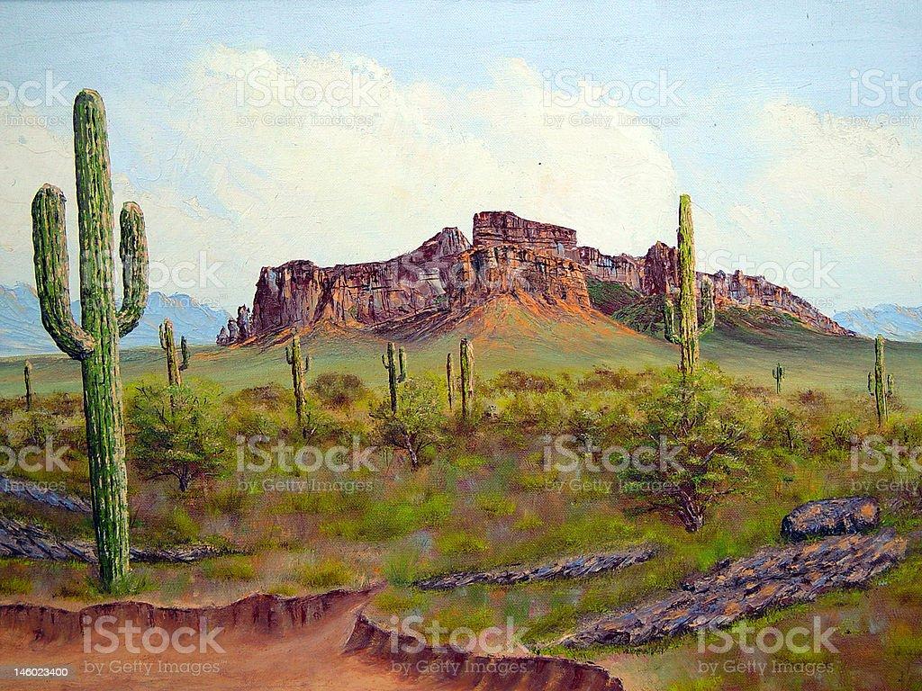 Arizona 1 royalty-free stock vector art