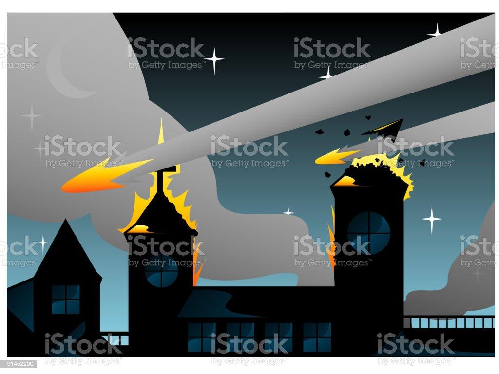 Armageddon royalty-free stock vector art