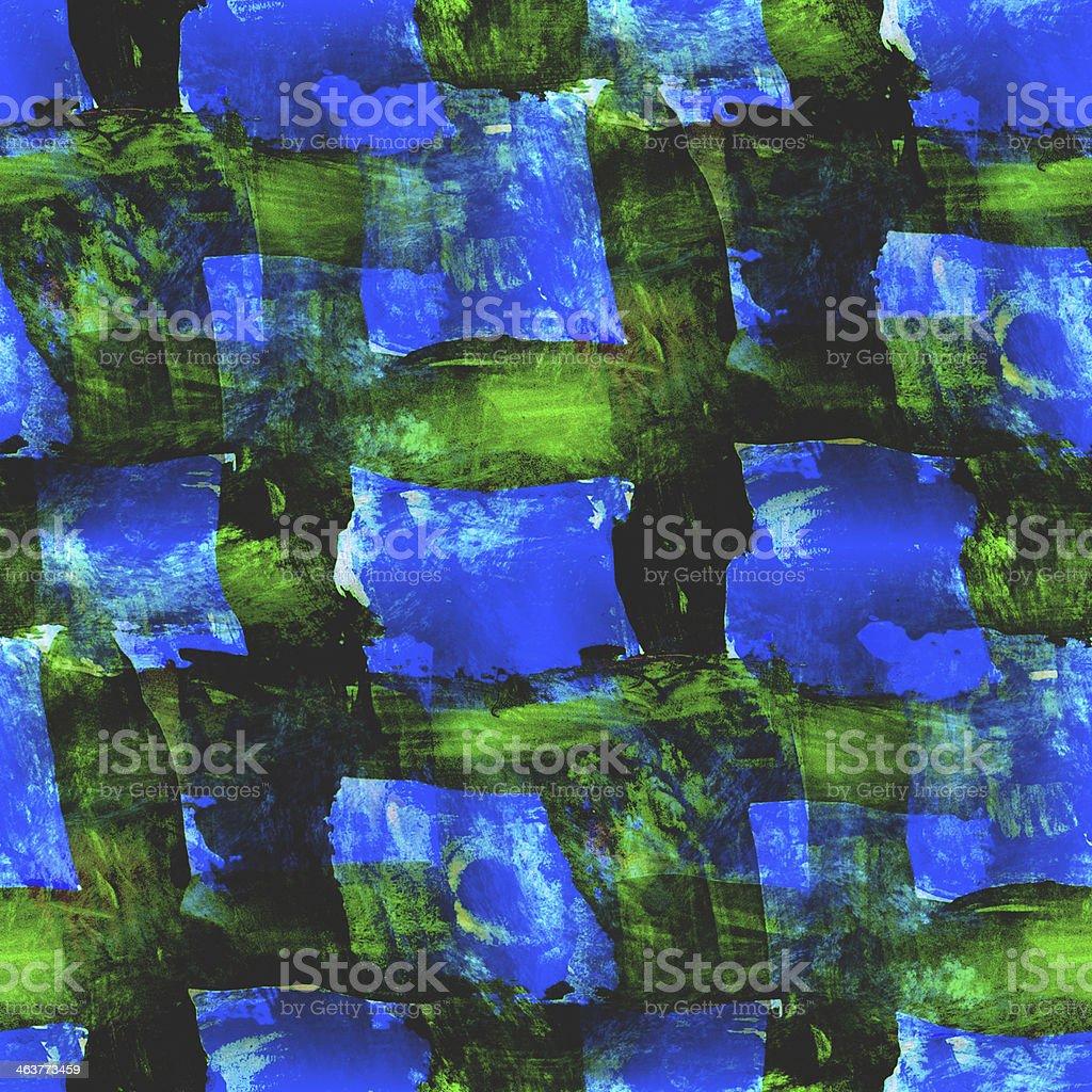 art blue, green seamless texture , watercolor royalty-free stock vector art