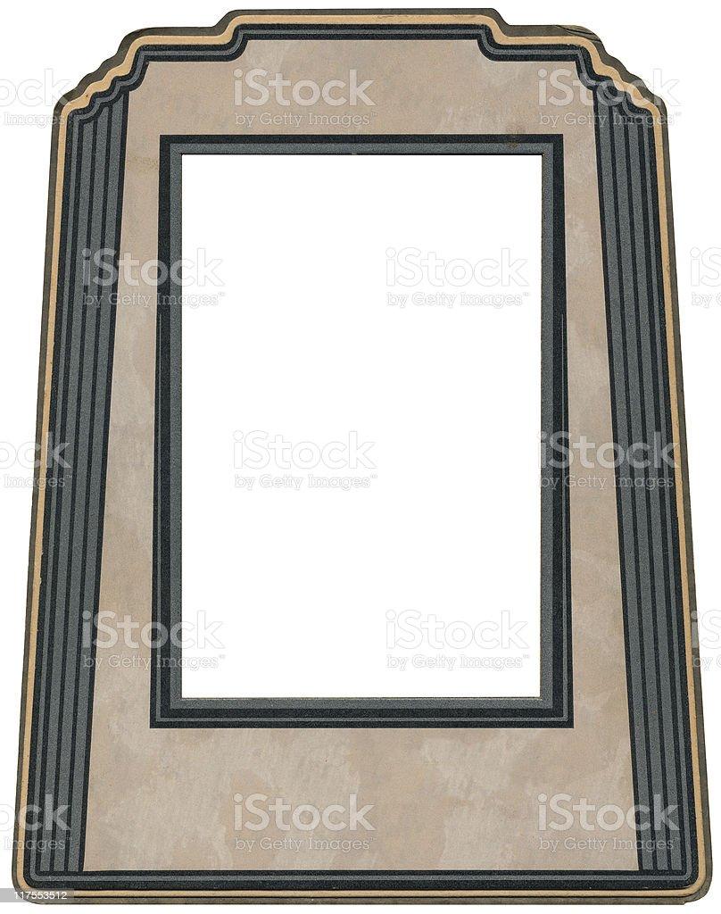 Art Deco photo Frame royalty-free stock vector art