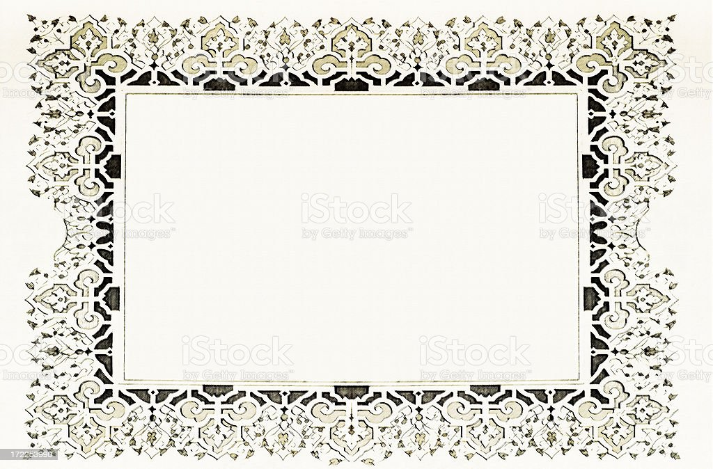 Art frame XXL royalty-free stock vector art