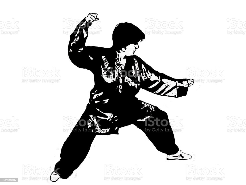 Art of TAI-CHI royalty-free stock vector art