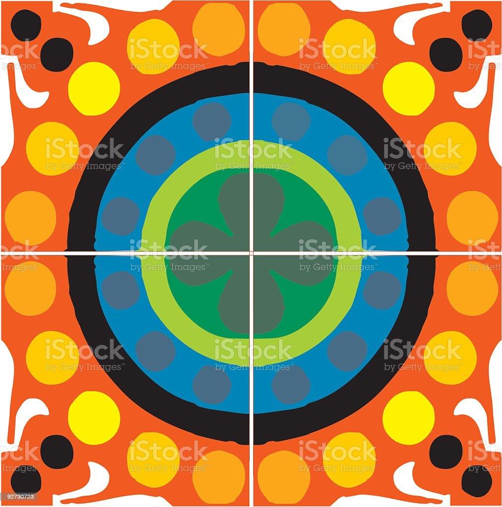 Artistic pattern7 royalty-free stock vector art