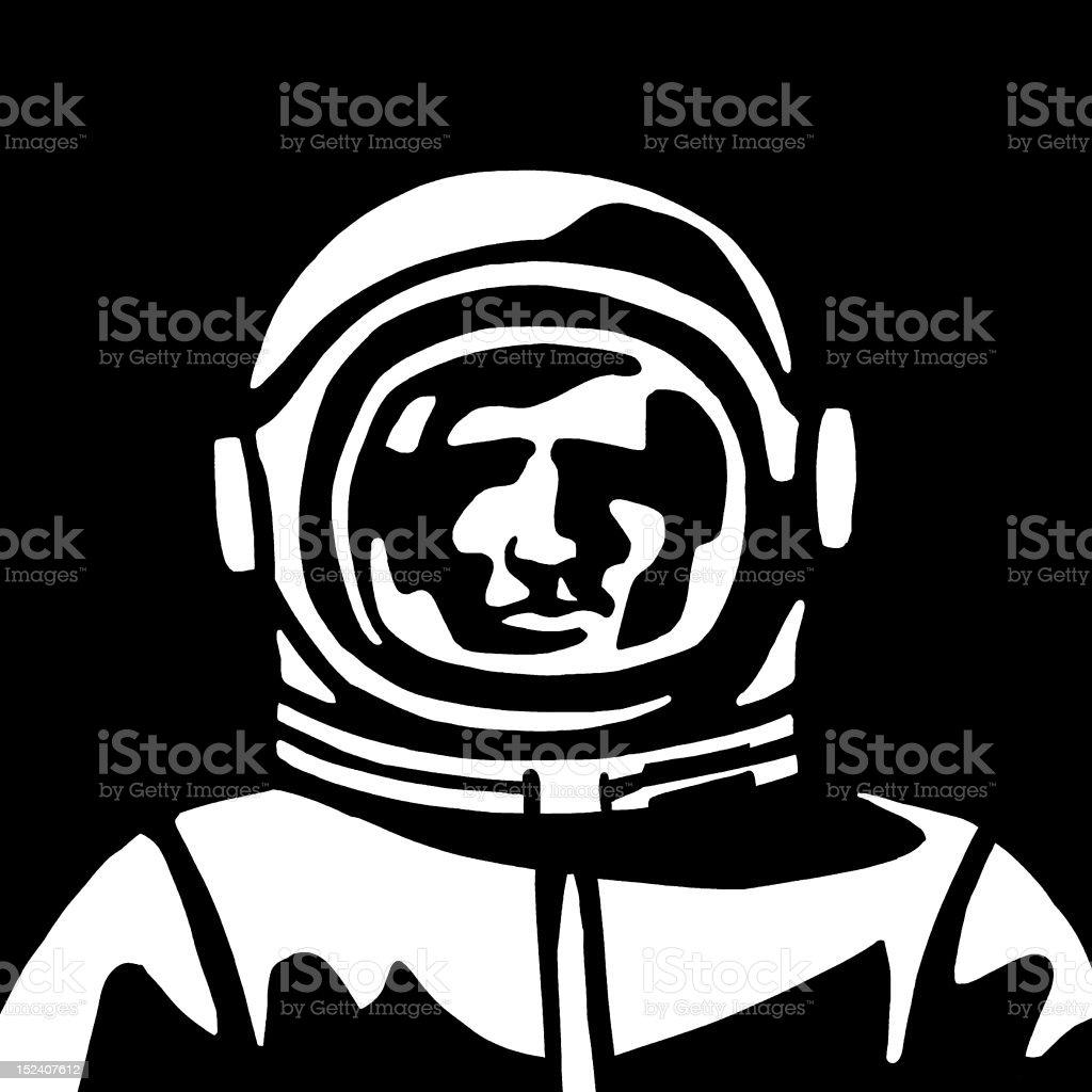 Astronaut royalty-free stock vector art