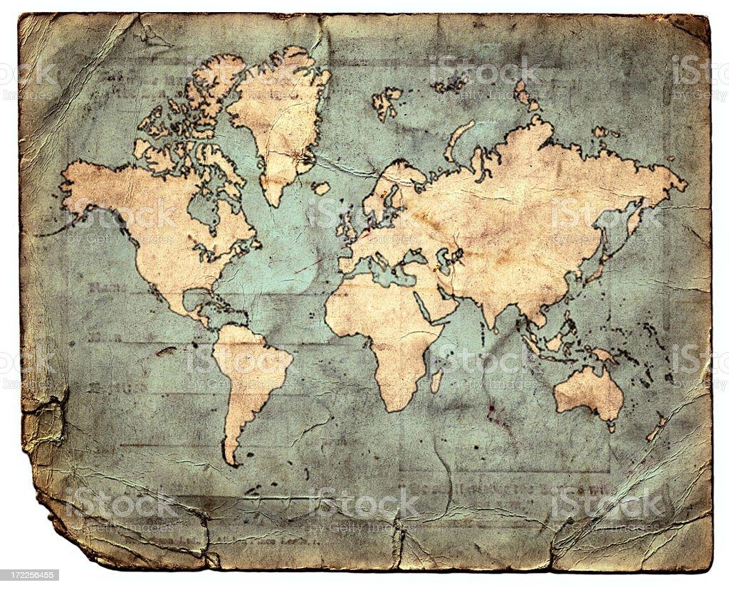 Atlas vector art illustration