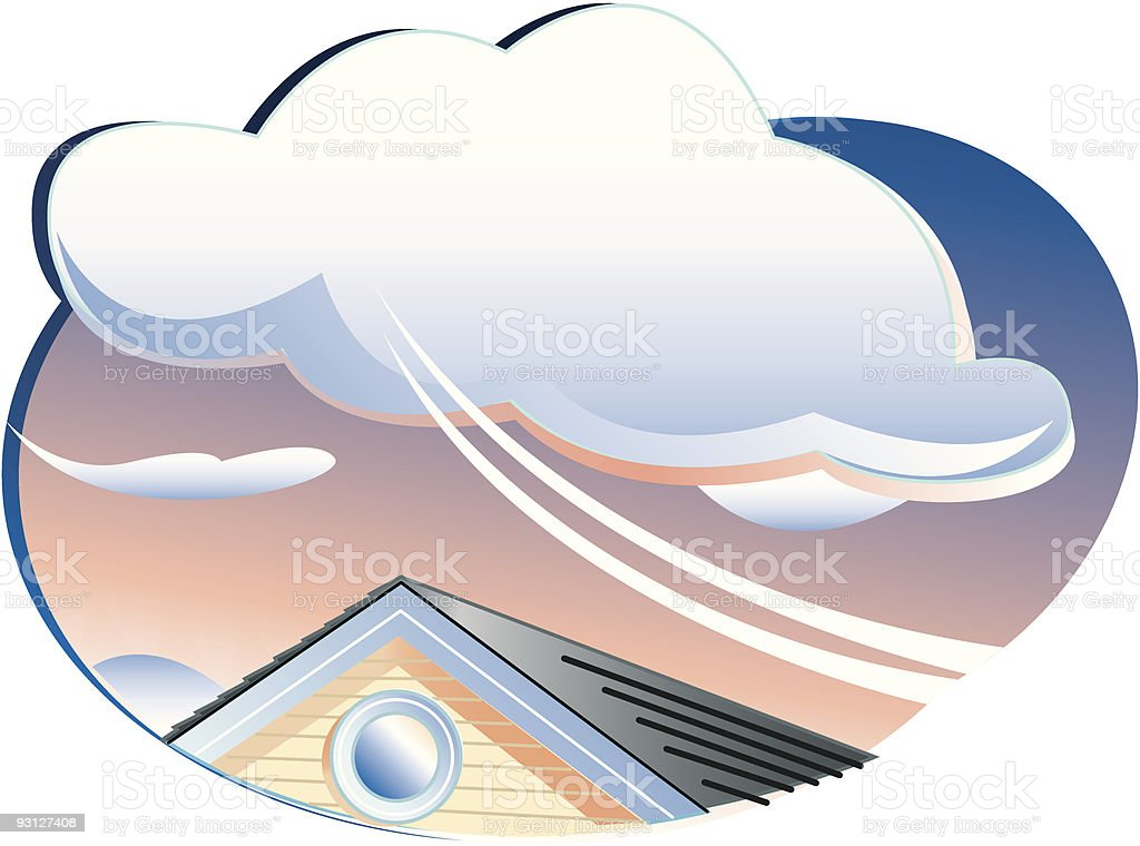 Atmosphere royalty-free stock vector art