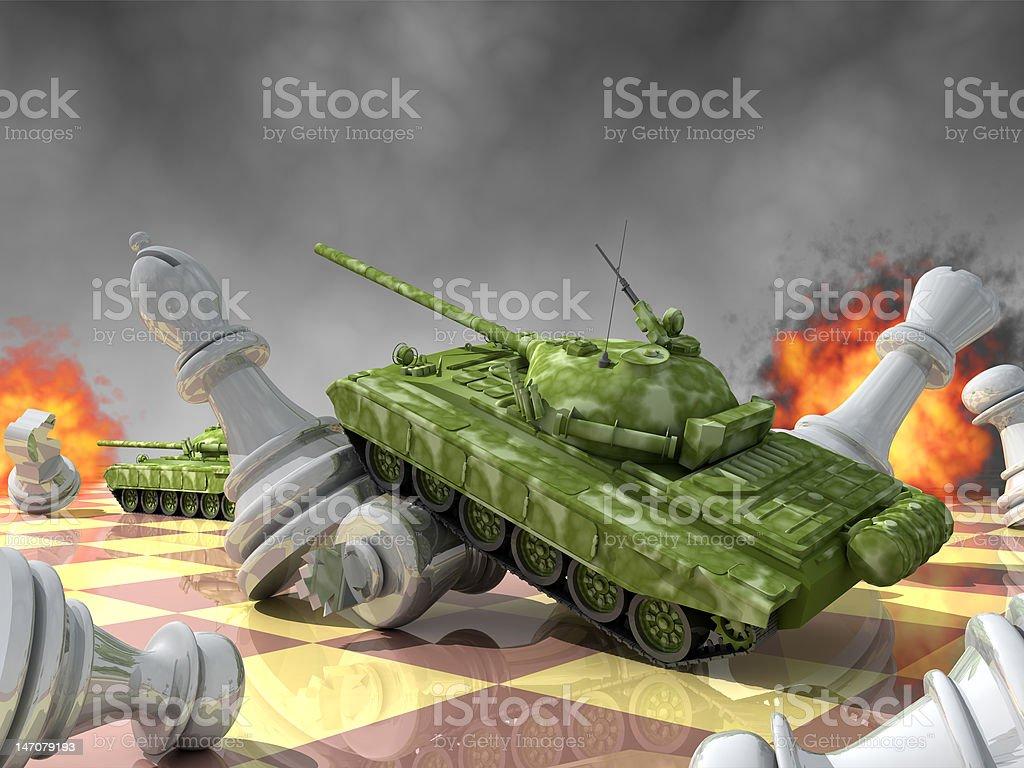 Attack. royalty-free stock vector art