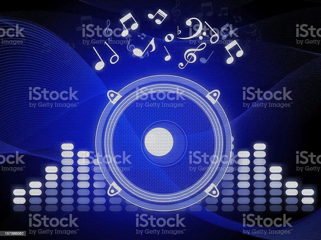 Audio Equipment vector art illustration