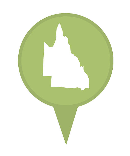 clipart map of queensland - photo #49