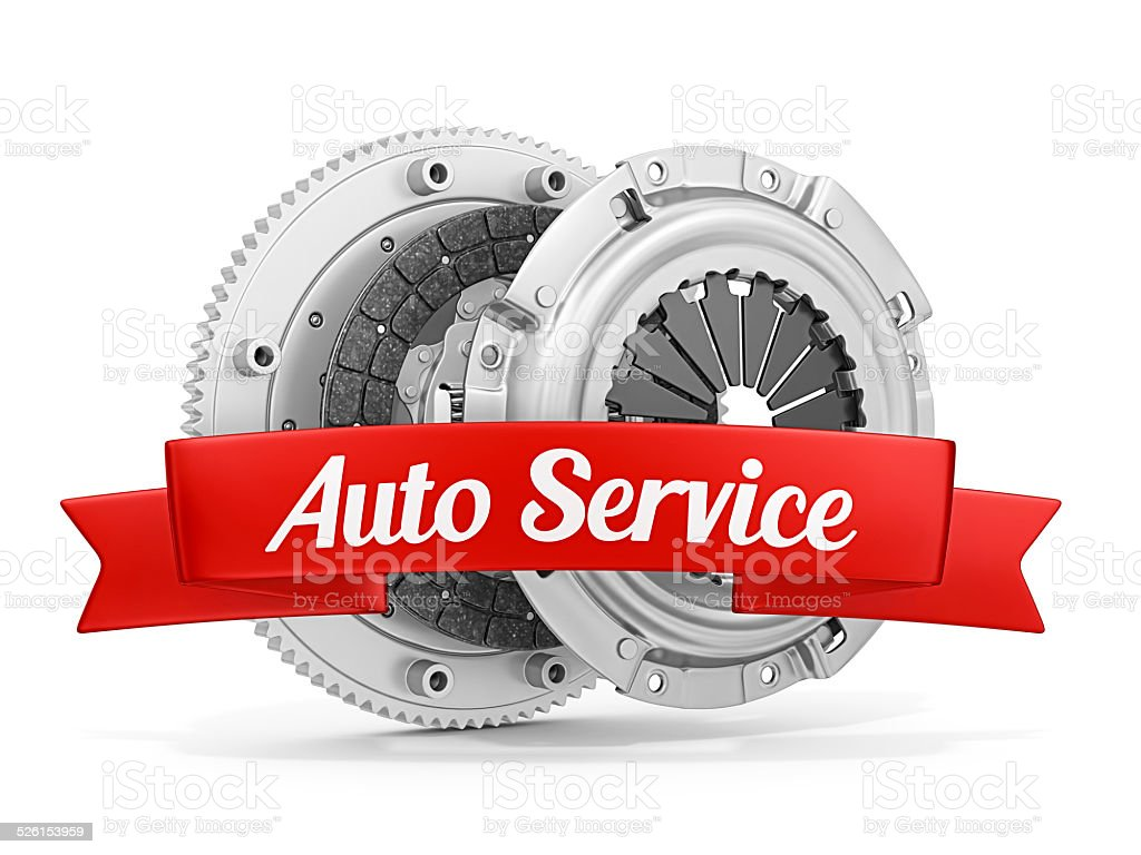 auto service vector art illustration
