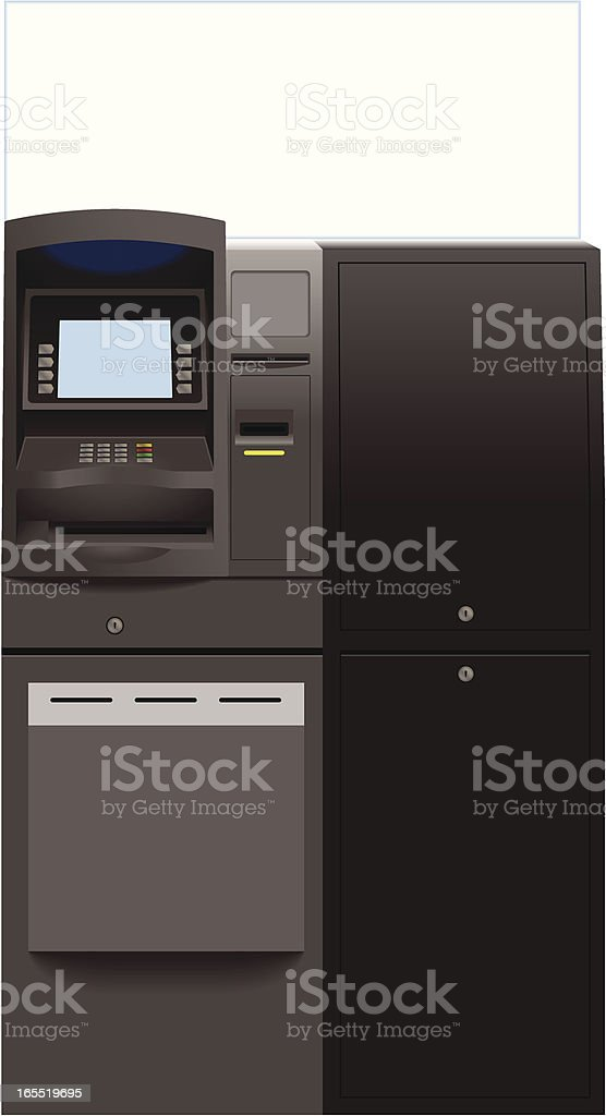 Automatic Teller Machine royalty-free stock vector art