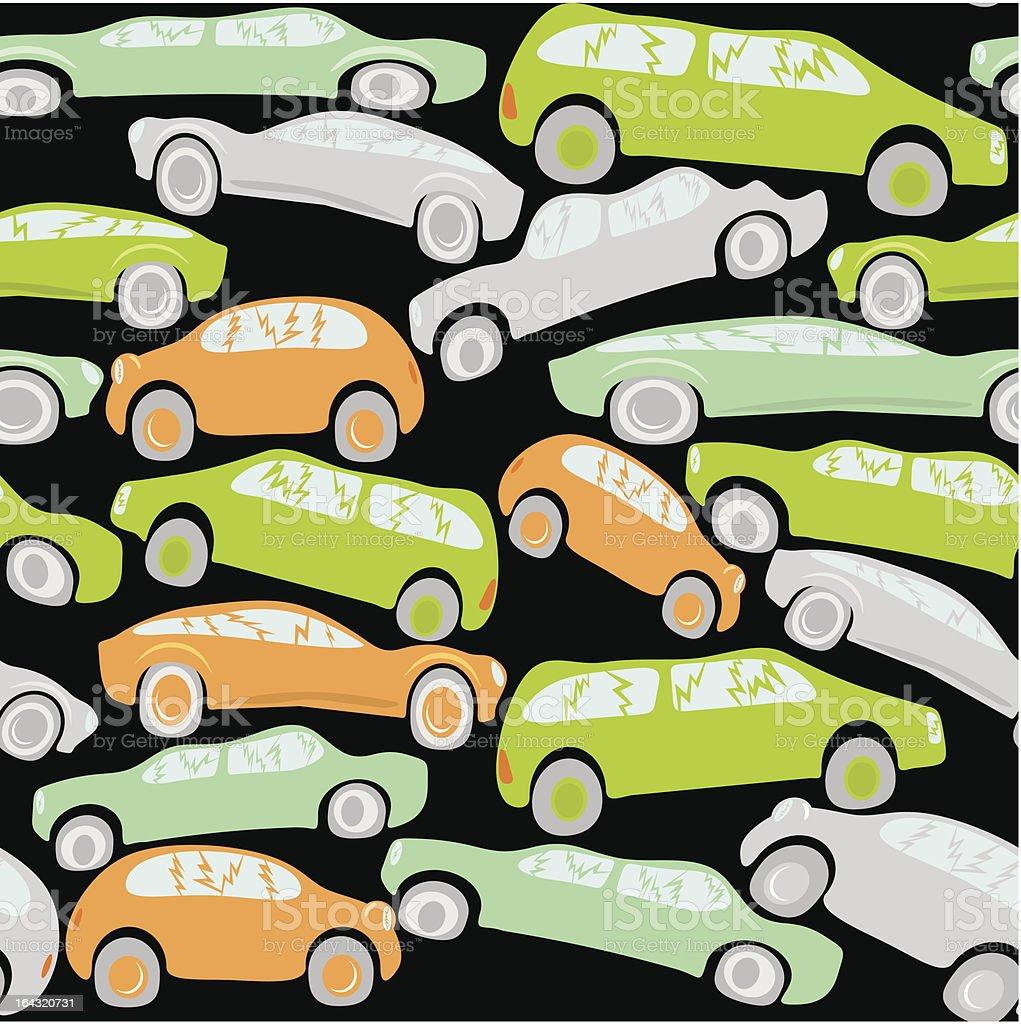 Automobile dump royalty-free stock vector art