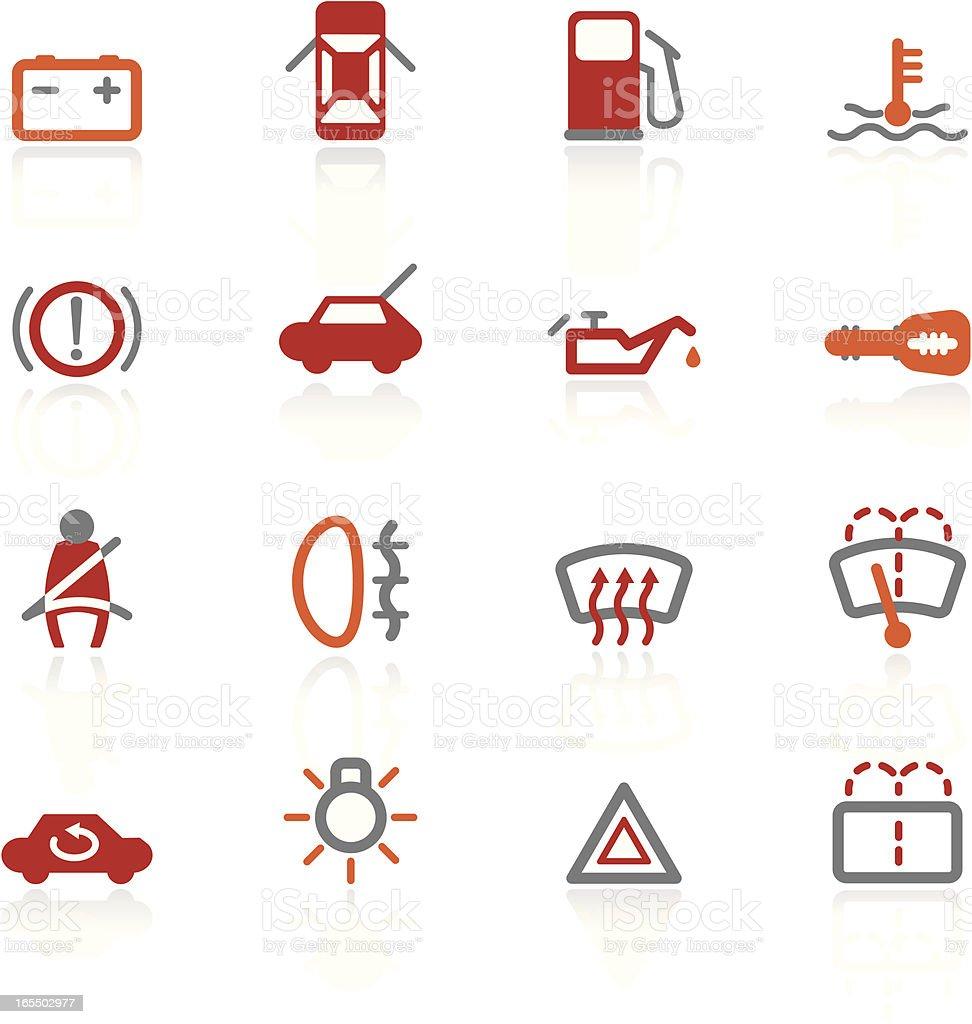 Automotive Controls   Scorched Collection vector art illustration