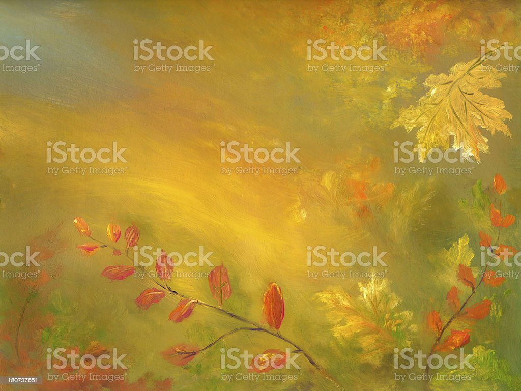 Autumn Abstract Background royalty-free stock vector art