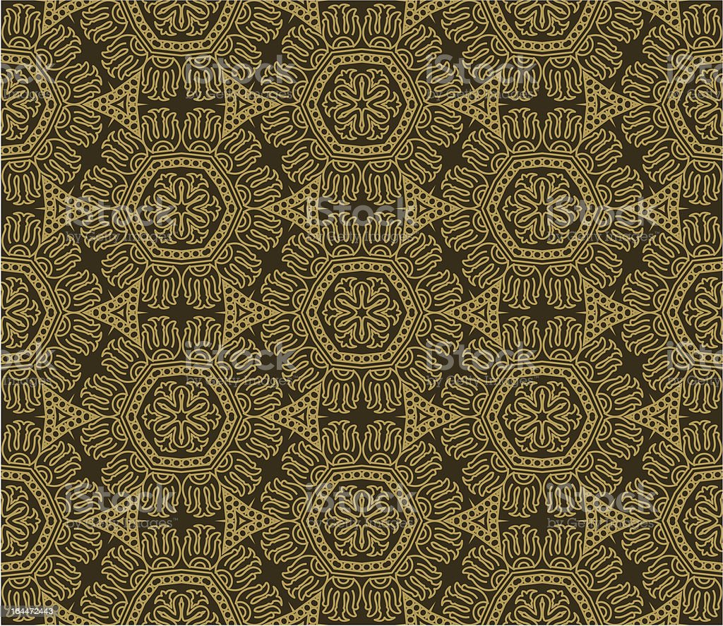Aztec seamless background royalty-free stock vector art