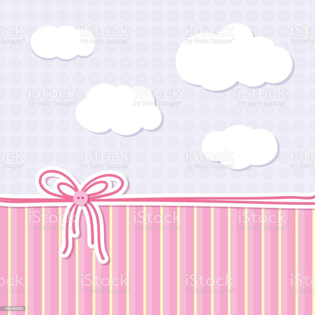 baby background, vector eps 10 vector art illustration