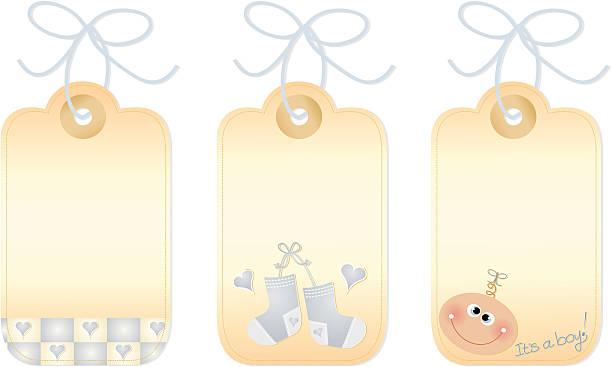 Baby Gift Vector : Baby booties clip art vector images illustrations istock