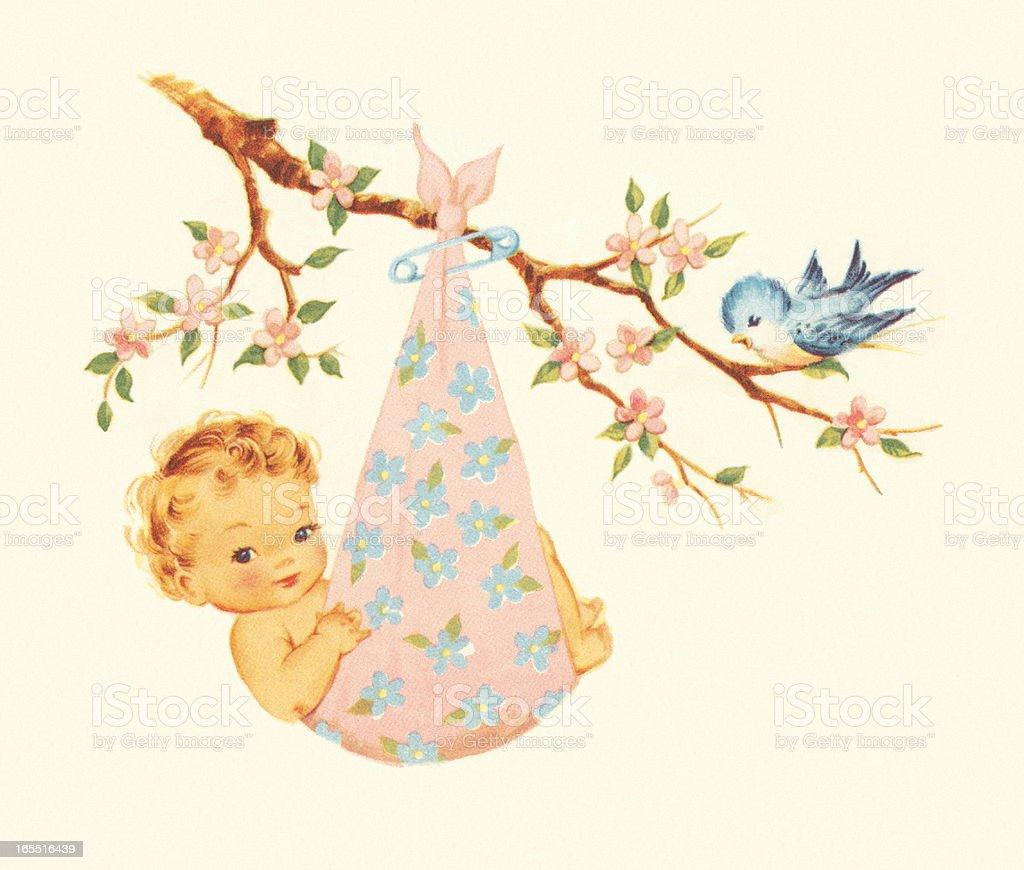 Baby Bundle royalty-free stock vector art