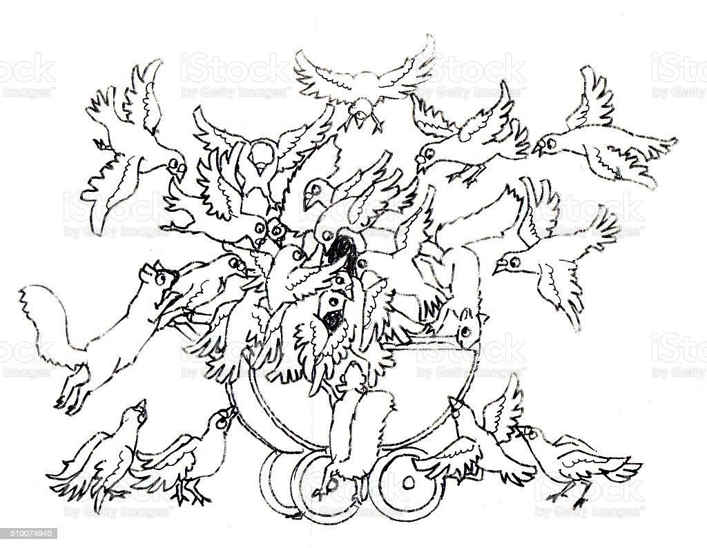 Baby Carriage Lizenzfreies vektor illustration