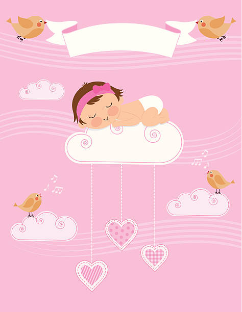 Baby Girls Clip Art Vector Images Amp Illustrations Istock