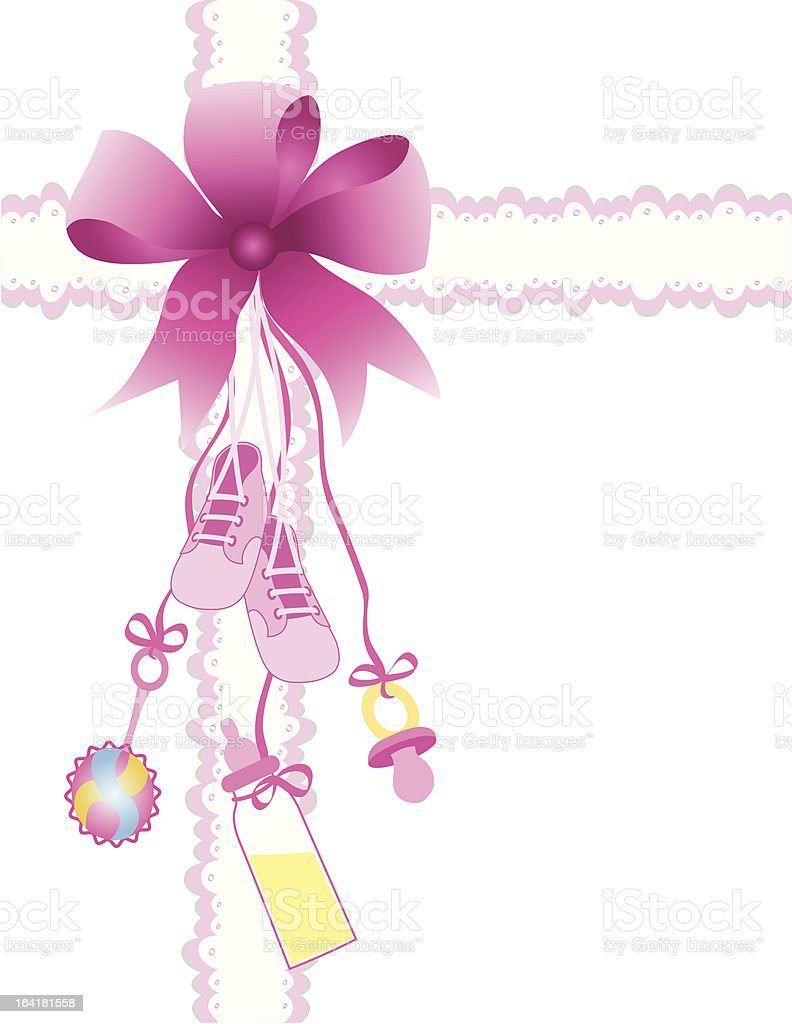 baby girl royalty-free stock vector art