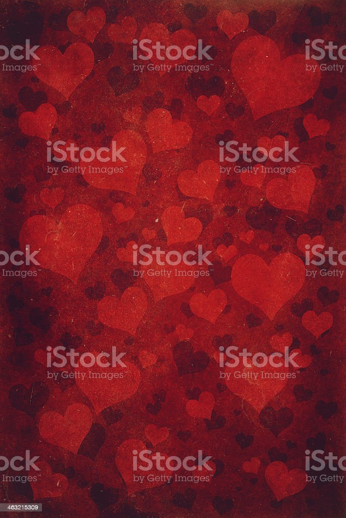 Background Hearts royalty-free stock vector art